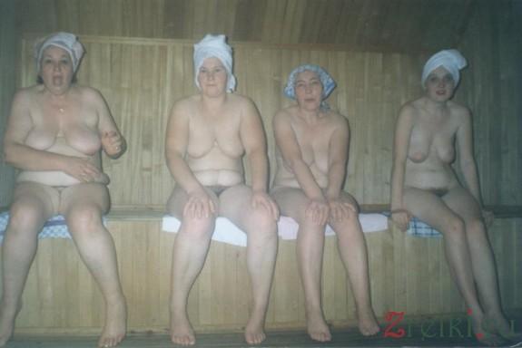 фото дамы в бане